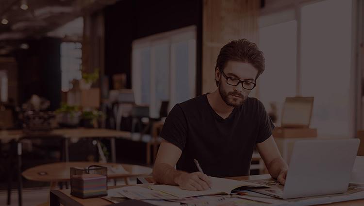 Digital Marketing Solutions Team Leader Working